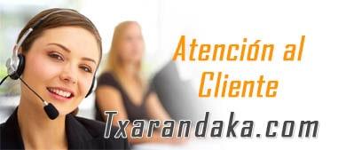 atencion al cliente Txarandaka